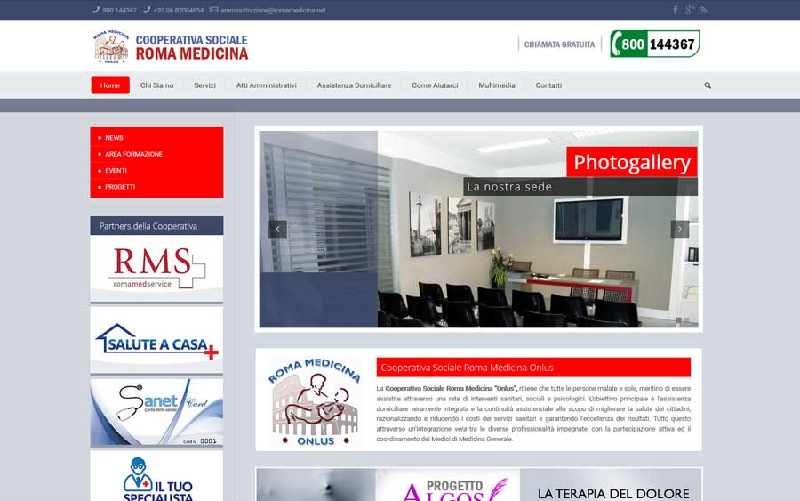 Cooperativa Sociale Roma Medicina Onlus