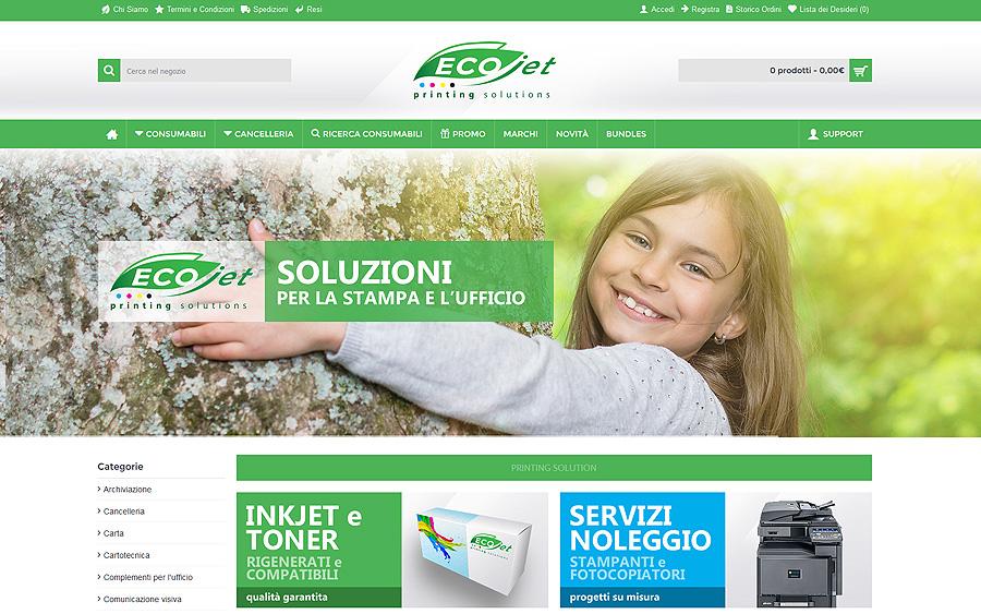 Ecojet sas | Consumabili compatibili e rigenerati